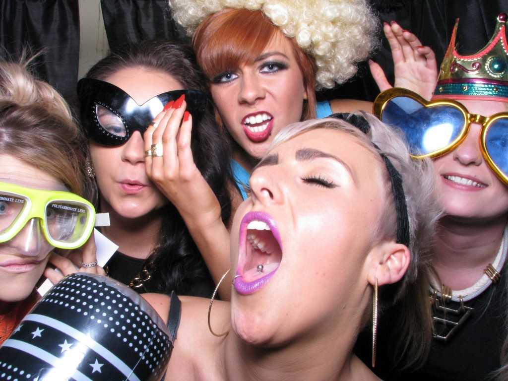 Party photo booth cumbria