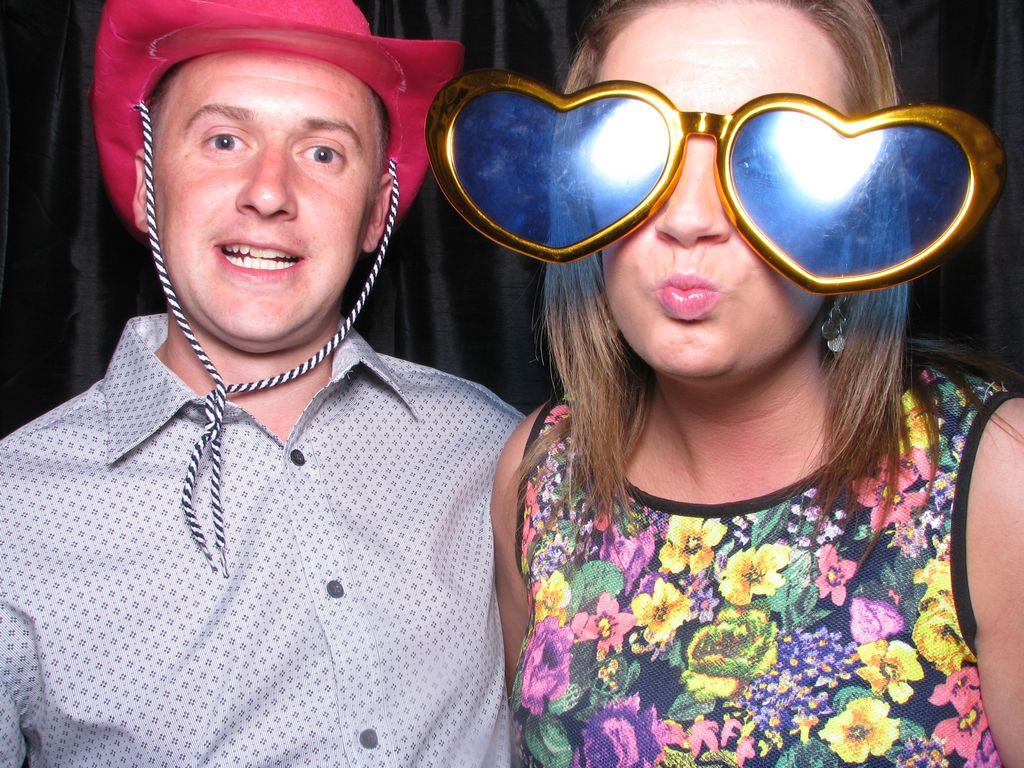 Photo booth at Roundthorn Hotel, Penrith