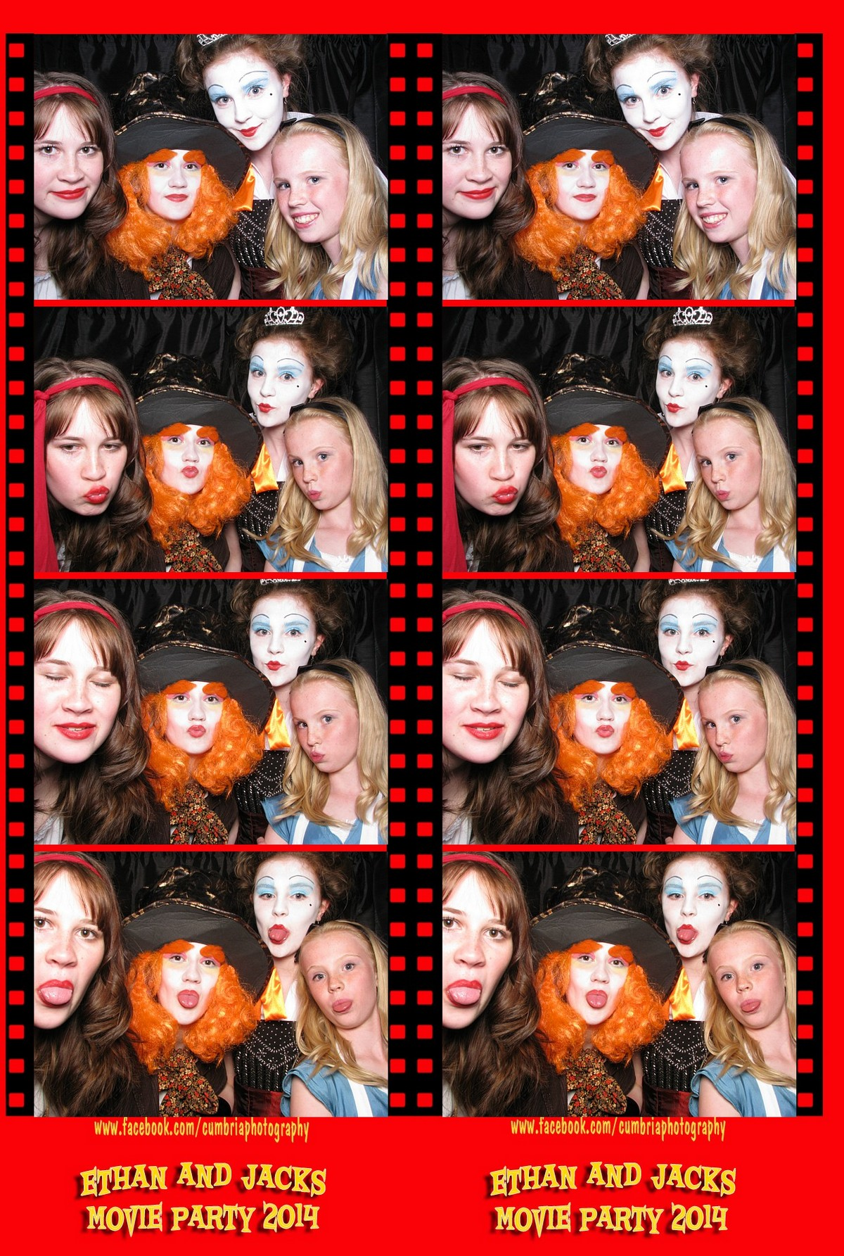 Photo booth hire Carlsile