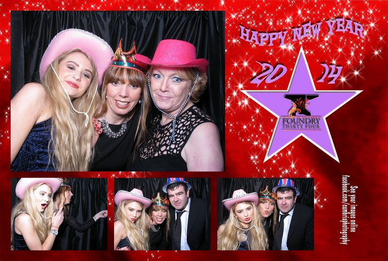 Photo Booth Hire Penrith – New Year Eve party at Foundry 34