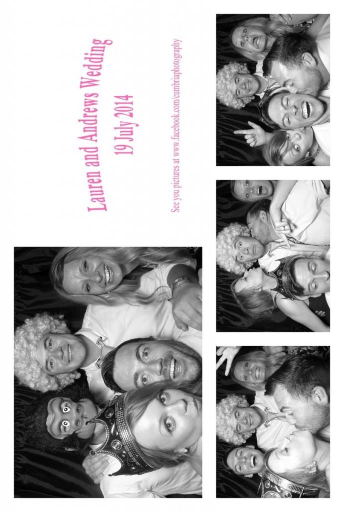 Wedding Photo Booth Cumbria