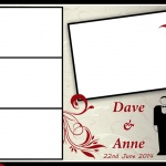 Photo booth print template
