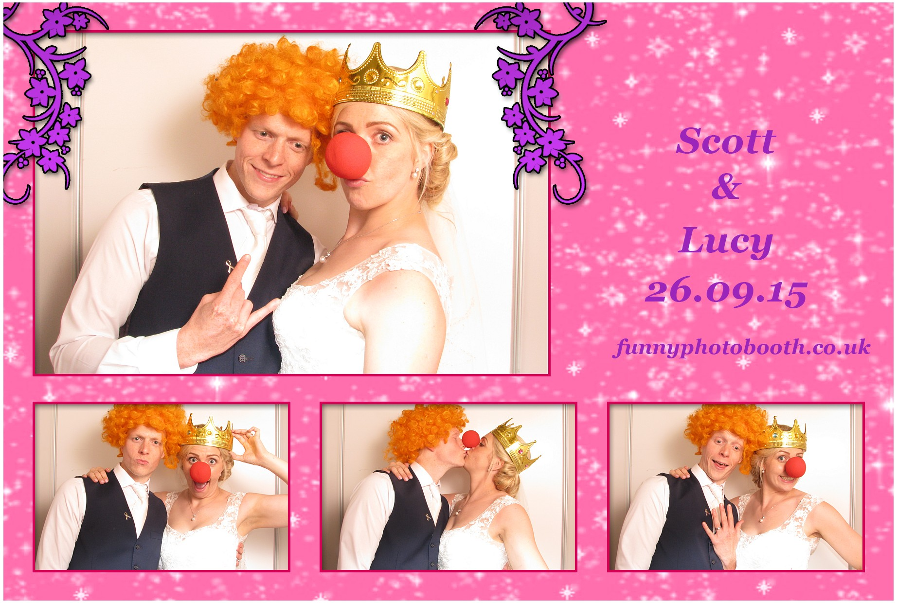 Lake district photo booth